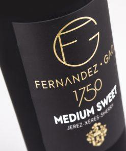 Vino Medium Sweet Fernández Gao. Los mejores vinos del 2018