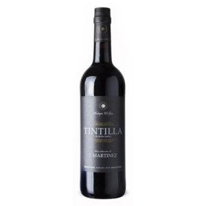 Vino Tintilla de Rota reserva J. Martínez. Los mejores vinos del 2018