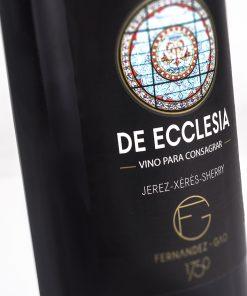 Vino Cream De Ecclesia Fernández Gao. Los mejores vinos del 2018