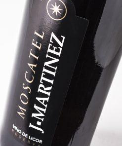 Vino Moscatel reserva J. Martínez. Los mejores vinos del 2018